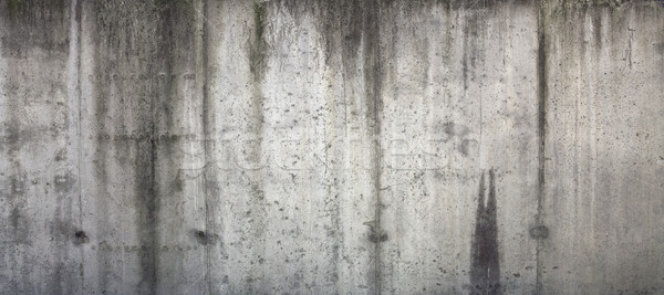 Old grungy texture, grey concrete wall  Stock photo © sqback
