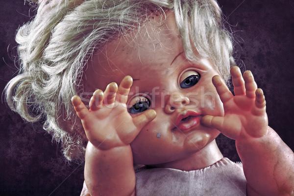 Vintage doll face  Stock photo © sqback