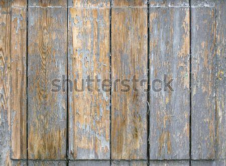 Viharvert fa textúra ajtó háttér szín Stock fotó © sqback