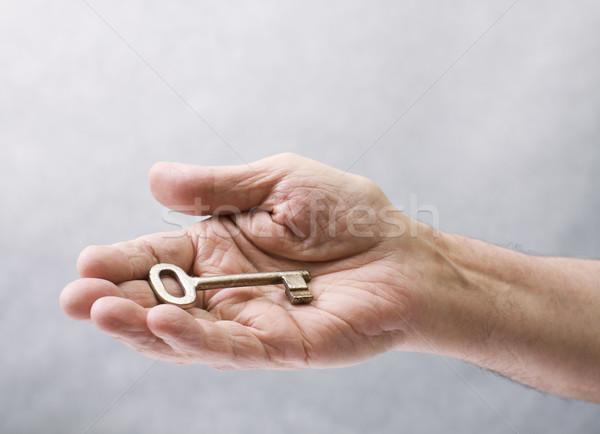 キー 手 ヘルプ 高齢者 成功 神 ストックフォト © sqback