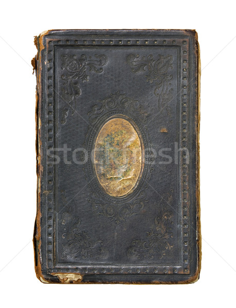 Very Old Book Cover with clipping path. Stock photo © sqback