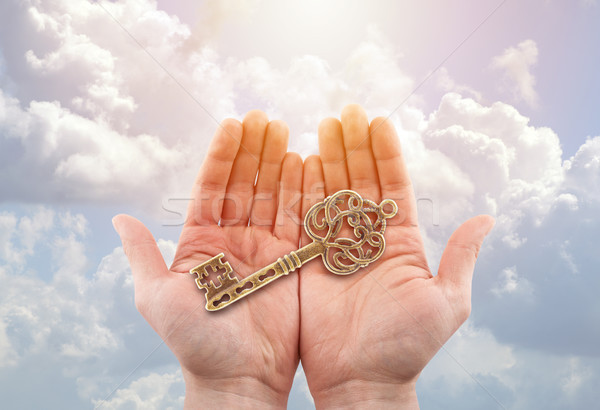 The key to success  Stock photo © sqback