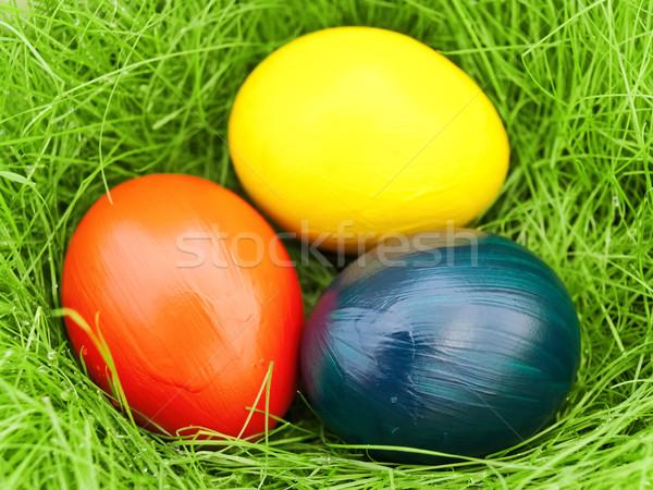 eastern eggs Stock photo © SRNR