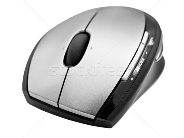 ワイヤレス オプティカル マウス 白 技術 ツール ストックフォト © SRNR