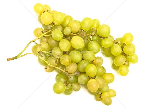 Stock photo: green grape vine