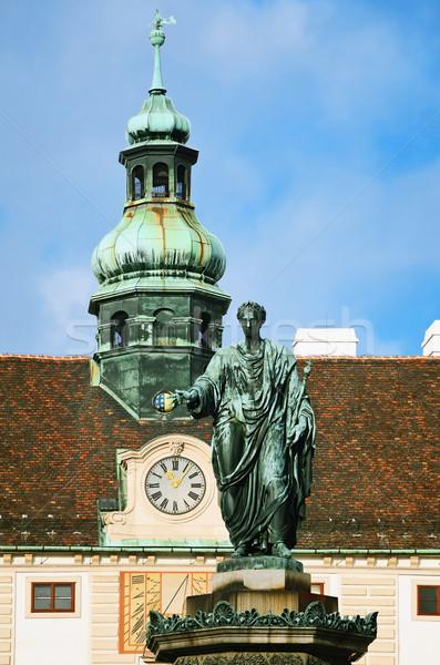Franz I Monument Stock photo © SRNR