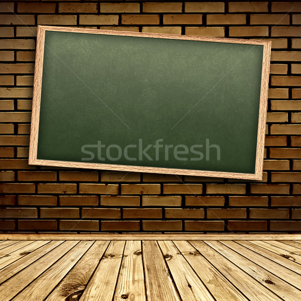Blackboard in interior Stock photo © SRNR
