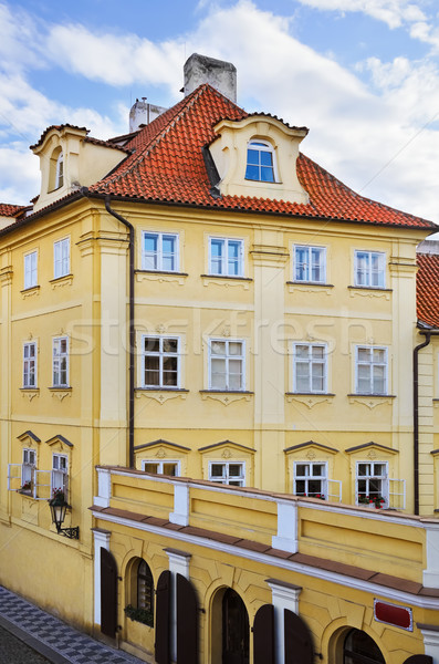House In Prague Stock photo © SRNR