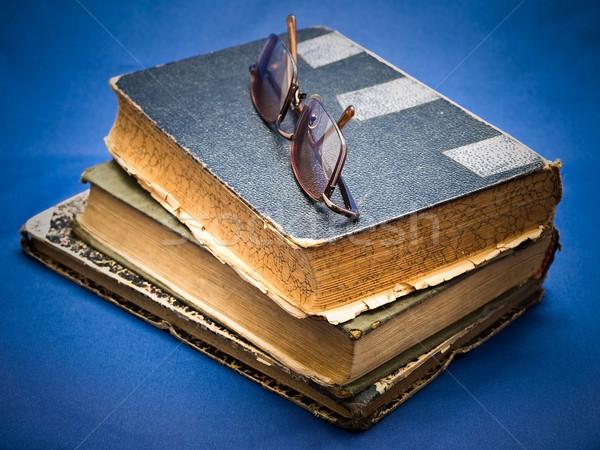 pile of oldbook Stock photo © SRNR