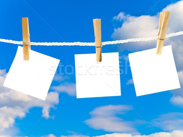 White Notes Stock photo © SRNR