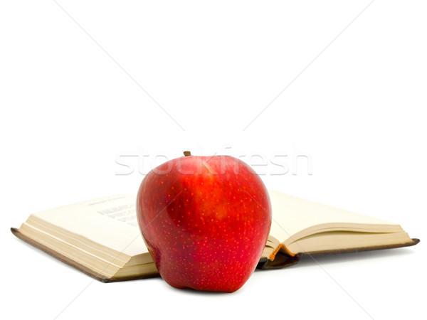 Apple Near The Book Stock photo © SRNR