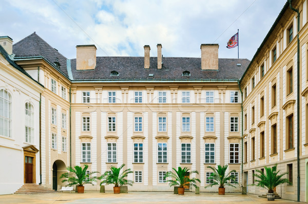 Prague Castle Courtyard Stock photo © SRNR