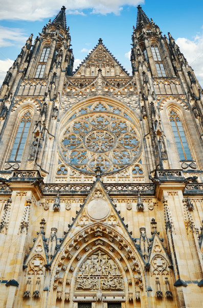 St. Vitus Cathedral Stock photo © SRNR