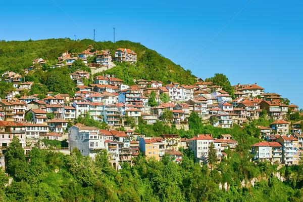 City District on a Hillside Stock photo © SRNR