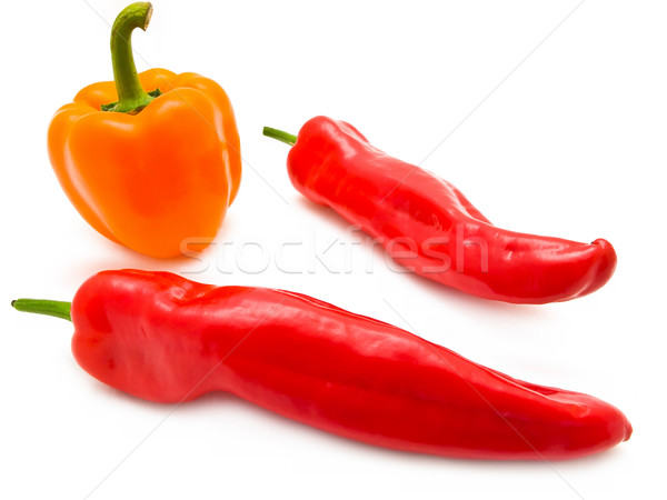 pepper and paprika Stock photo © SRNR