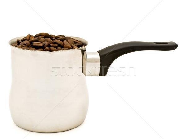 トルコ語 コーヒー豆 白 エネルギー レトロな オブジェクト ストックフォト © SRNR
