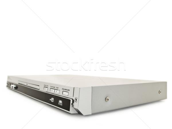 Jogador branco tecnologia botão eletrônico diversão Foto stock © SRNR