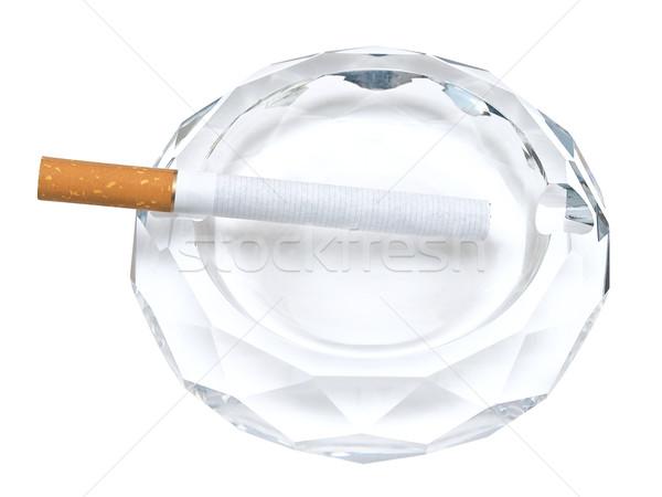 Küllük sigara beyaz sağlık sigara paketlemek Stok fotoğraf © SRNR