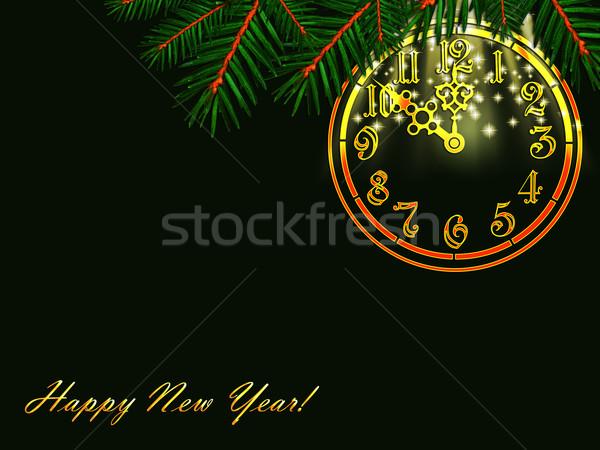 Happy New Year! Stock photo © SRNR