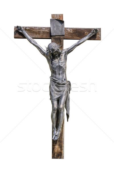 распятие крест Рисунок Христа религии религиозных Сток-фото © SRNR