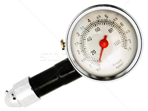 tyre pressure gage Stock photo © SRNR