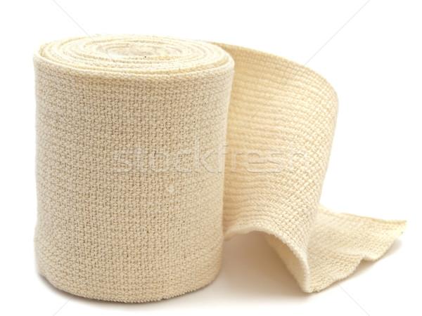 Elastik bandaj fotoğraf beyaz tıbbi hastane Stok fotoğraf © SRNR