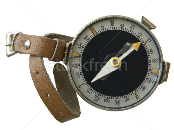 Compass with hand strap Stock photo © SRNR