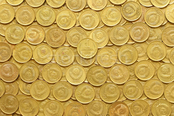 rows of coins Stock photo © SRNR