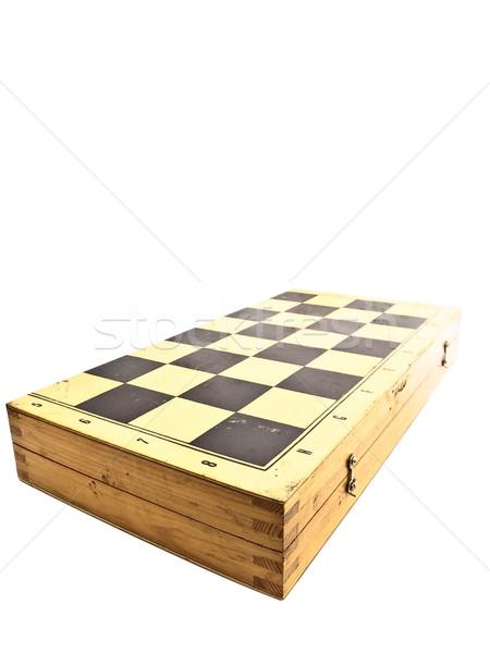 closed chessboard Stock photo © SRNR
