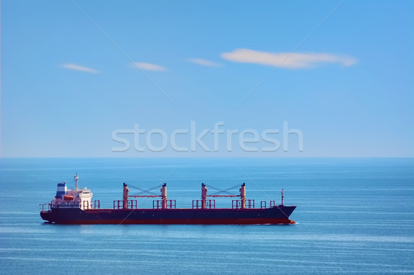 Bulk Carrier Ship Stock photo © SRNR