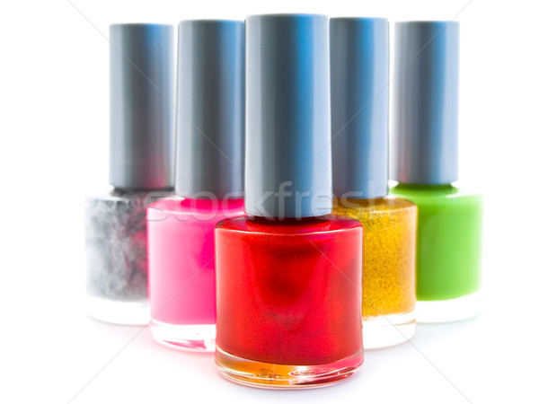 Nail Polish Stock photo © SRNR