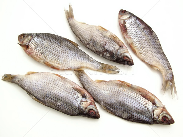 Stock photo: Dry fish