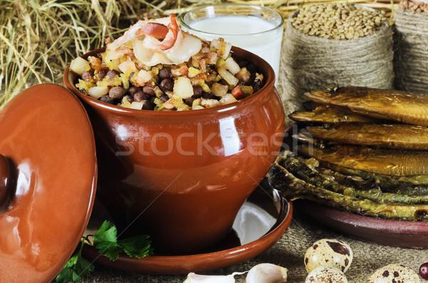 Latvian Traditional Food Stock photo © SRNR