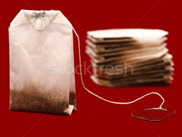 three tea bags Stock photo © SRNR