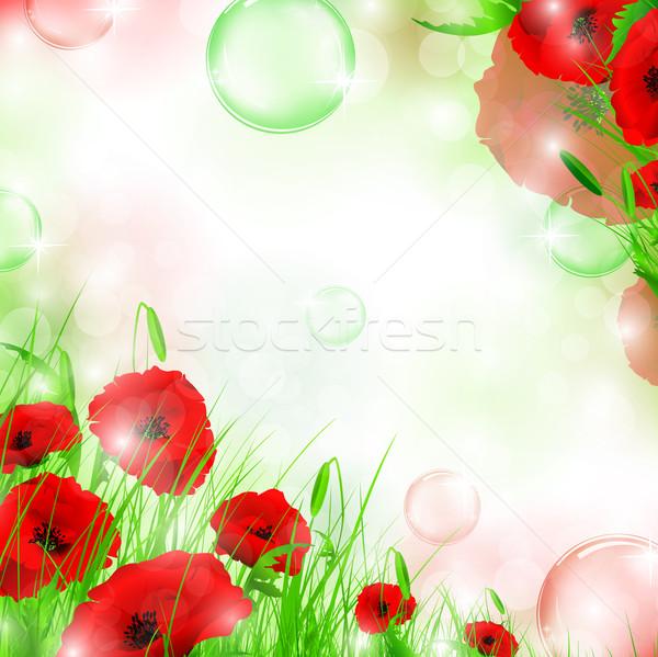 Stockfoto: Frame · natuur · lucht · bubbels · fantasie