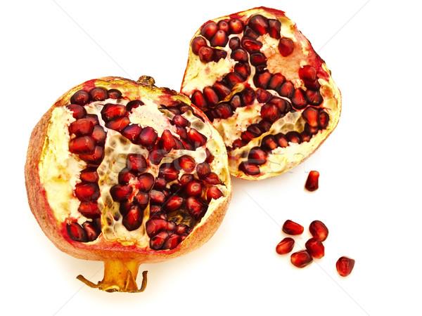 broken  pomegranate Stock photo © SRNR