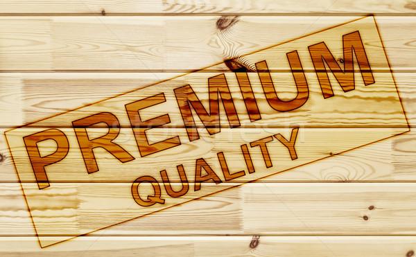 Membro prêmio qualidade superfície textura Foto stock © SRNR