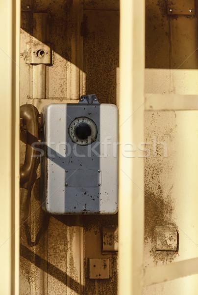 Telefone cabine velho Foto stock © SRNR