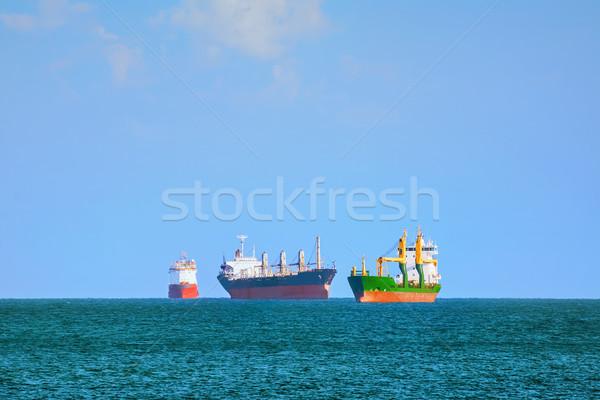груза суда черный морем вверх воды Сток-фото © SRNR