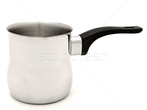 Turco retro vintage objeto pote fundo branco Foto stock © SRNR
