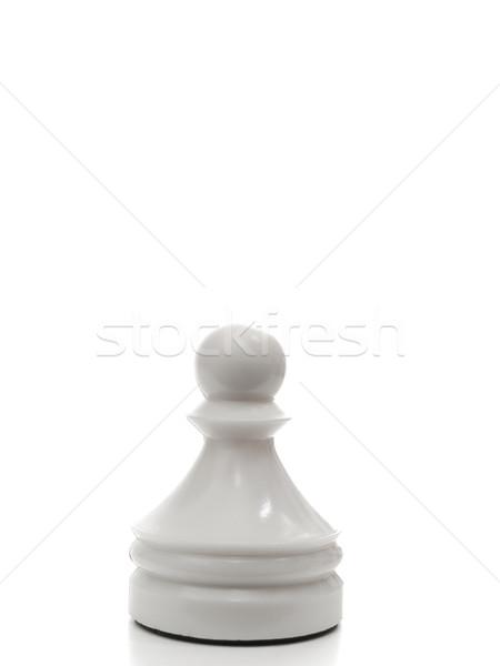 Beyaz satranç siyah başarı oynamak Stok fotoğraf © SRNR