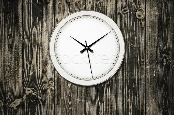 Clássico parede relógio tempo piso Foto stock © SRNR