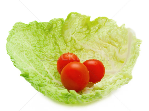tomatoes in cabbage Stock photo © SRNR