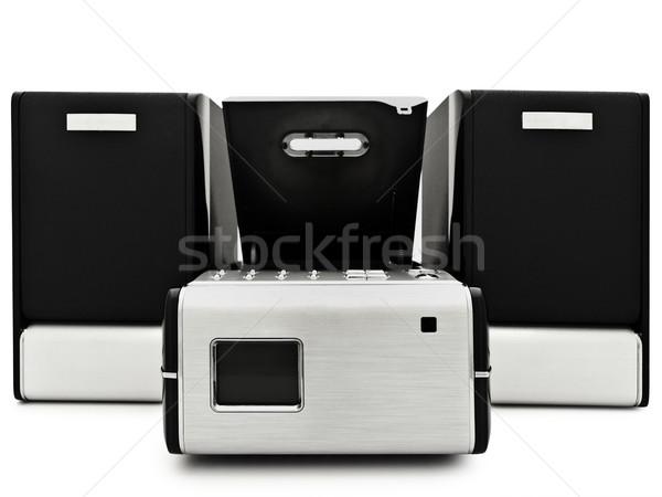 современных цифровой компакт-диск игрок белый технологий Сток-фото © SRNR