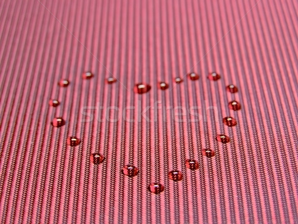 drop heart Stock photo © SRNR