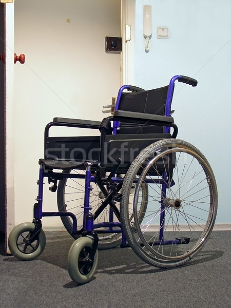 wheelchair in the hospital Stock photo © SRNR