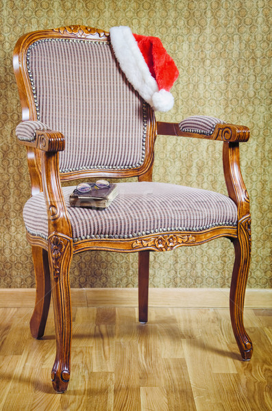 Santa's Armchair Stock photo © SRNR