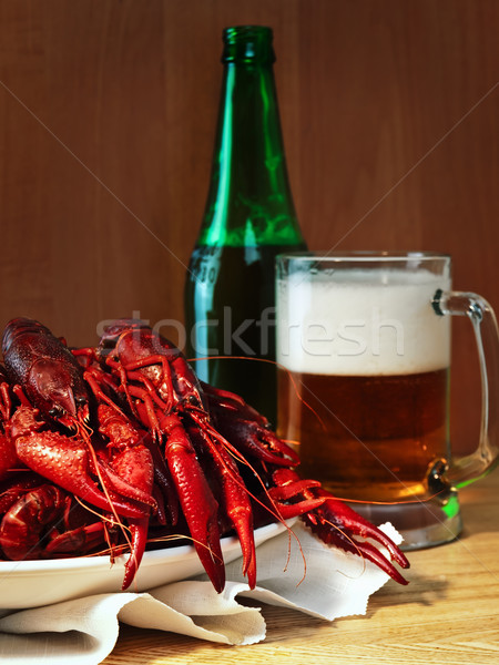 crawfishes and beer Stock photo © SRNR