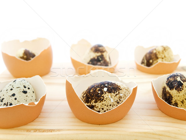 quail eggs Stock photo © SRNR