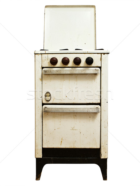 old gas stove Stock photo © SRNR